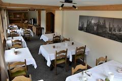 Frühstücksraum First Lodge Grindelwald