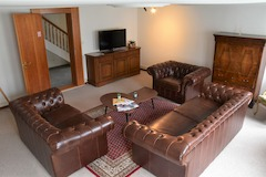 Fernsehzimmer First Lodge Grindelwald